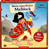 Käpt'n Sharky: Mein superdicker Malblock