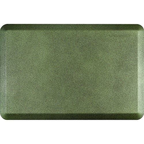 WellnessMats Granite Kitchen Mat Emerald
