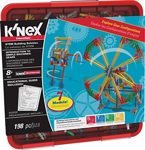 (K'NEX Intro to Simple Machines Gears Set by K'Nex)