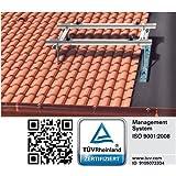 Kl/öber Venduct DUO Solardurchf/ührungs-Set braun Universal Dachdurchf/ührung Solarleitung KE8270-0247