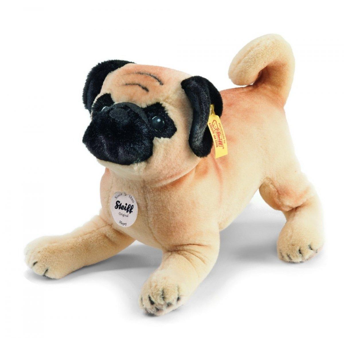 tienda de ventas outlet Steiff 077012 Mopsy Mops - Perro carlino de peluche peluche peluche (25 cm)  orden ahora disfrutar de gran descuento