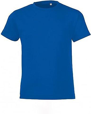SOLS Camiseta de manga corta modelo Regent para niños