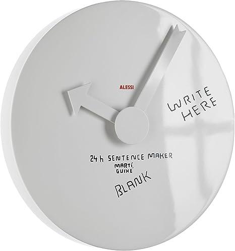 Alessi - MGU02 1 - Blank wall clock Orologio da parete in alluminio ...