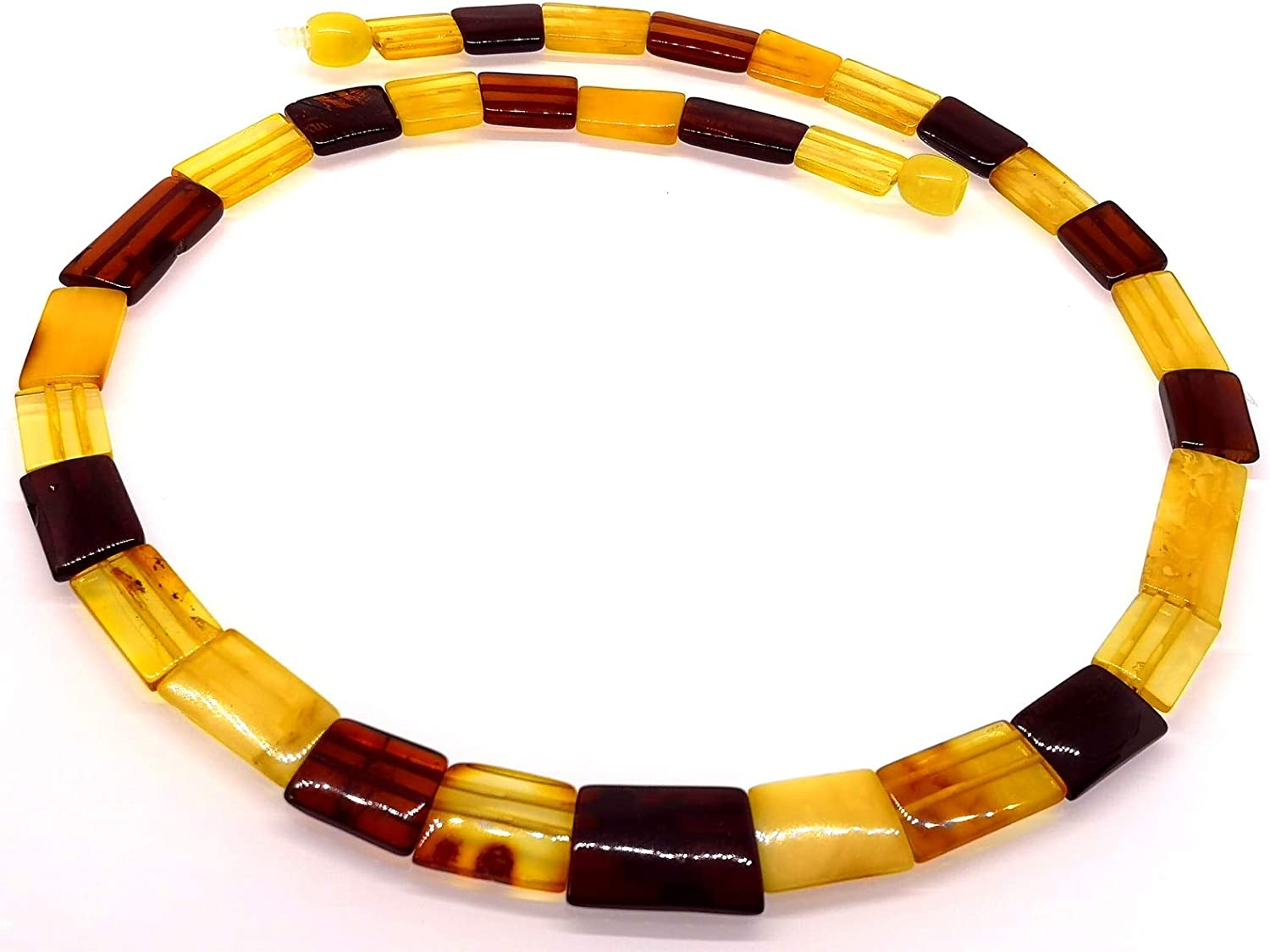 AMBERMILANA Natural Baltic Amber Necklace Collar//Women//Healing Amber Necklace//Certified Genuine Baltic Amber