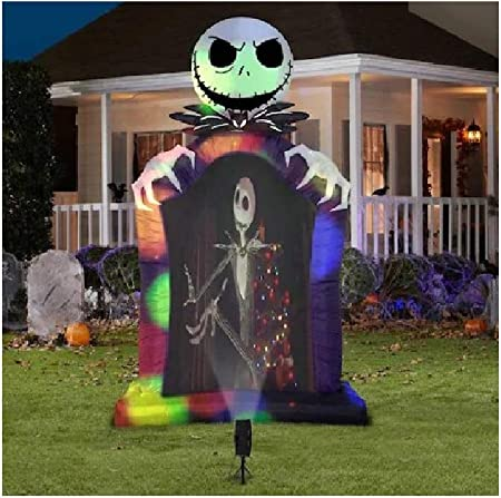 Amazon.com: Gemmy The Nightmare Before Christmas 223217 ...