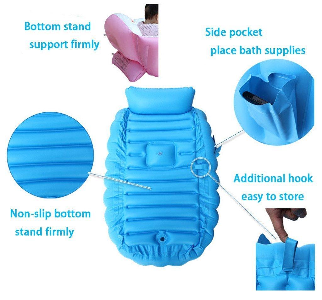 Amazon.com : Inflatable Baby Bathtub, Kid Infant Toddler Infant ...