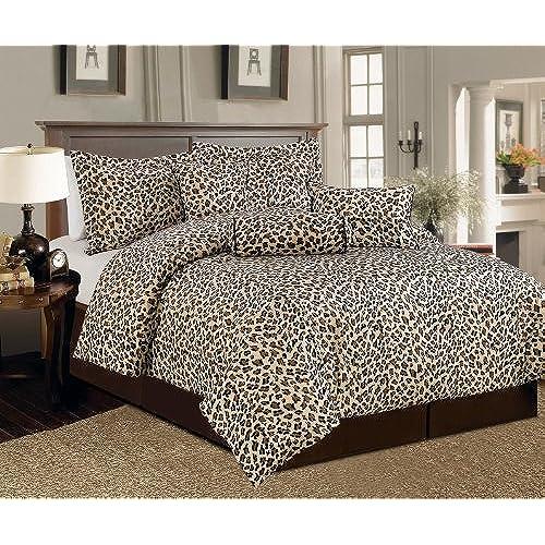 Leopard Bedroom Decorating Ideas: Cheetah Print Bedding: Amazon.com