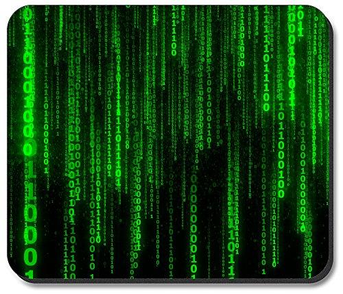 Art Plates Mouse Pad - Matrix Style Coding (Matrix Plate)