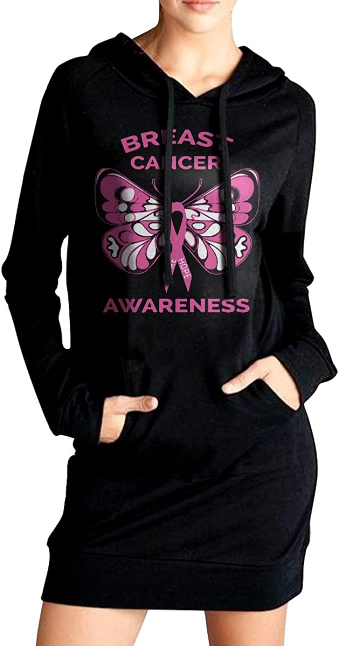 Breast Cancer Awareness Ladies Hoodie Pink Ribbon I Wear Pink For My Aunt Front /& Back Print Full Zip Hoody FBAUNT-71600FL