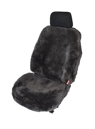 Kia Sorento Luxus Lammfell Sitzbezüge Auto Sitzbezug Schwarz