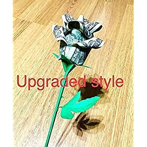 origami money rose paper flower real dollar bill graduation valentine gift bouquet 63