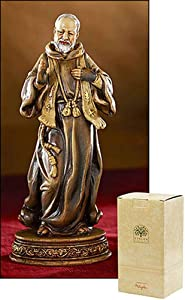 "6"" Saint St. Pio Padre Pio Religious Statue Gifts of Faith Bellavista Milagros"