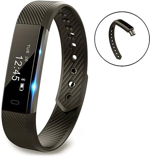 Vigorun Fitness Tracker YG3 Pulsera Inteligente Notificación de ...
