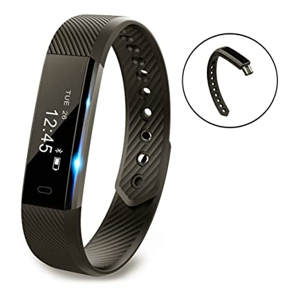Amazon Com Smart Bracelet Point Touch Vigorun P1 Bluetooth Call