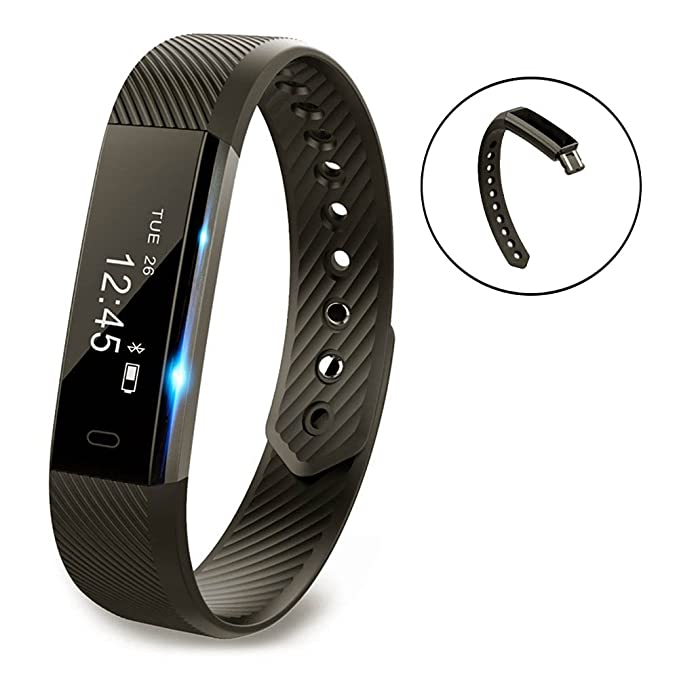 Vigorun Fitness Tracker YG3 Pulsera Inteligente Notificación de ...