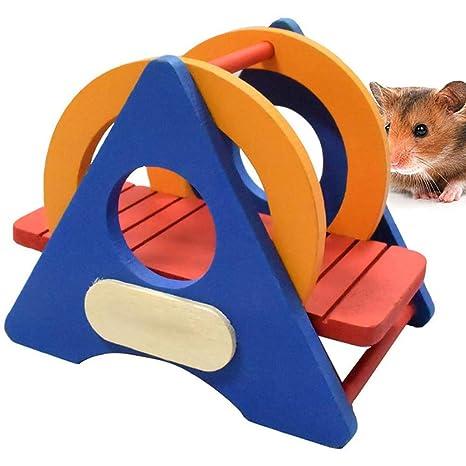 Amazon.com: Tcplyn – Jaula de madera para mascotas pequeñas ...