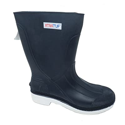 "XTRATUF 11"" Men's PVC Shrimp Boots, Navy (75137): Home Improvement"