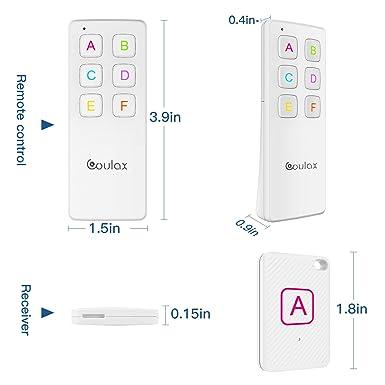Amazon.com: Key Finder, COULAX Wireless Key Tracker Anti ...