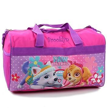 "e70864c3f Personalized Licensed Kids Travel Duffel Bag - 18"" (Paw Patrol - Girls)"