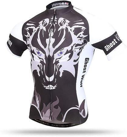 Micye Patrón de Cabeza de Lobo Que Imprime la Nueva Camiseta ...