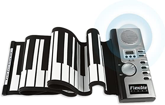 JouerNow RUP001, 61 Teclas engrosadas Roll Up Piano, sintetizador ...