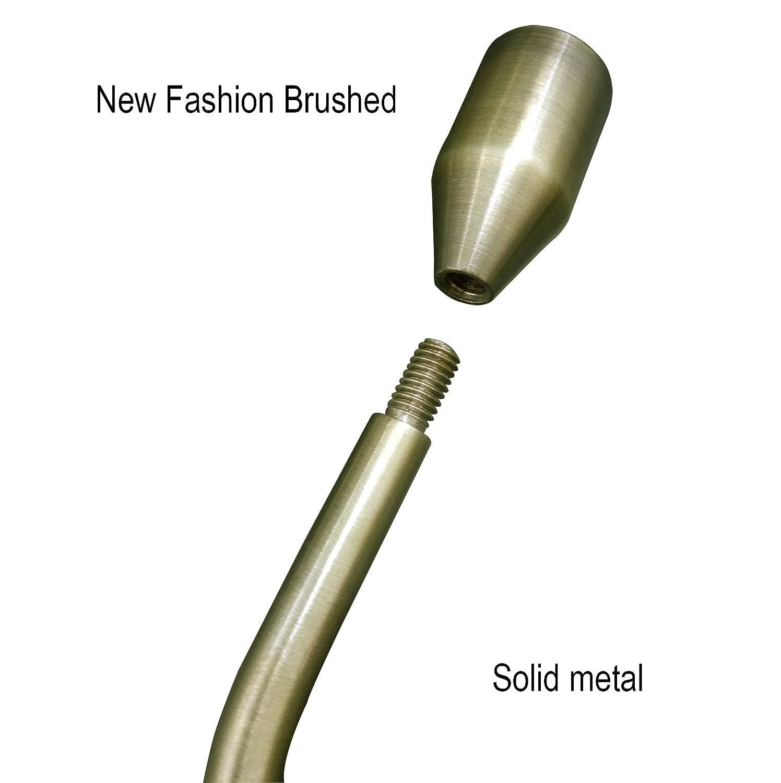 /Silber Green bronze Lumenty 2/St/ück Metall Raffarme Wandmontage Vorhang U Metall Vorhang Raffhalter Haken Halt R/ücken Draperie Raffhalter Raffhalter Metall Raffhalter Haken