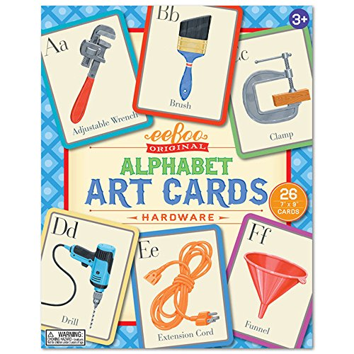 eeBoo Alphabet Art Flash Cards, Hardware
