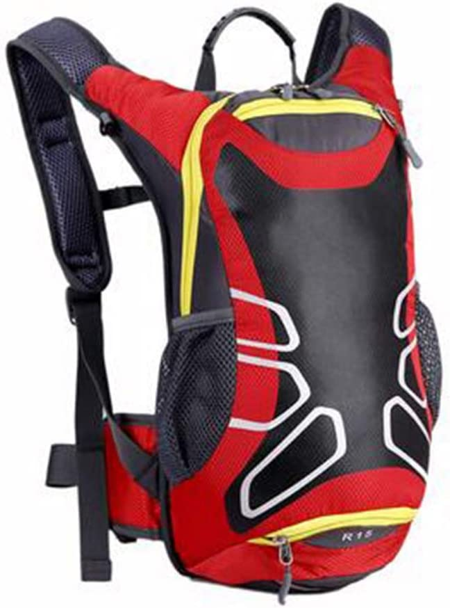 Running Backpack Outdoor Backpack Color : Red Haoyushangmao Backpack Sports Backpack for Men and Women Latest Models