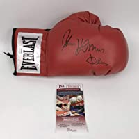 $84 » Autographed/Signed Thomas Hitman Hearns Red Everlast Boxing Glove JSA COA Auto