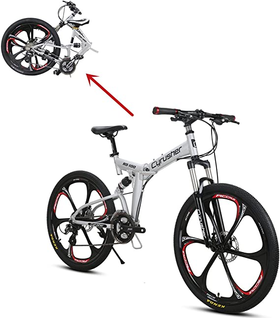 Bicicleta todoterreno VTT Cyrusher 27,5 pulgadas 21 pulgadas con ...