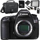 Canon EOS 5DSR DSLR Camera (Body Only) 64GB Bundle 6PC Accessory...