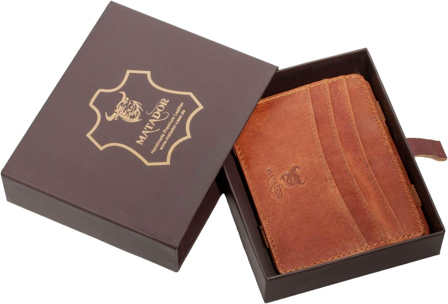 MATADOR Kreditkarten-hülle Kartenhalter Tasche Etui Geldbörse Geldbeutel RFID