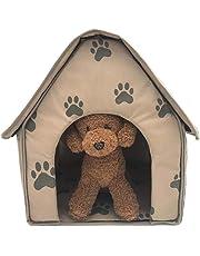 LyhomeO Suave Mascota Saco de Dormir Caseta Gato Cueva Perro Gato Casa extraíble y Plegable Kleine
