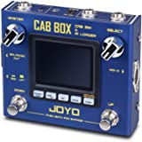 JOYO Cab Box R-08 R Series Electric & Bass Guitar Effect Pedal with IR Loading & Cabinet Modeling and Amp Simulator Supports