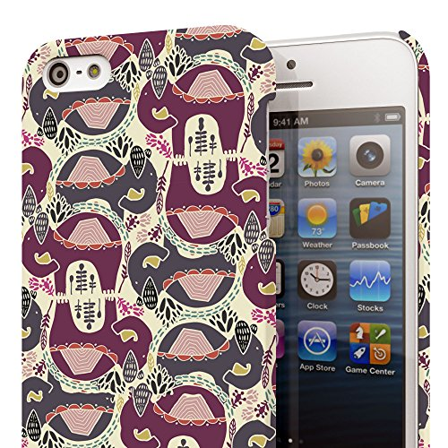 Koveru Back Cover Case for Apple iPhone 5S - Elephant mirror abstract