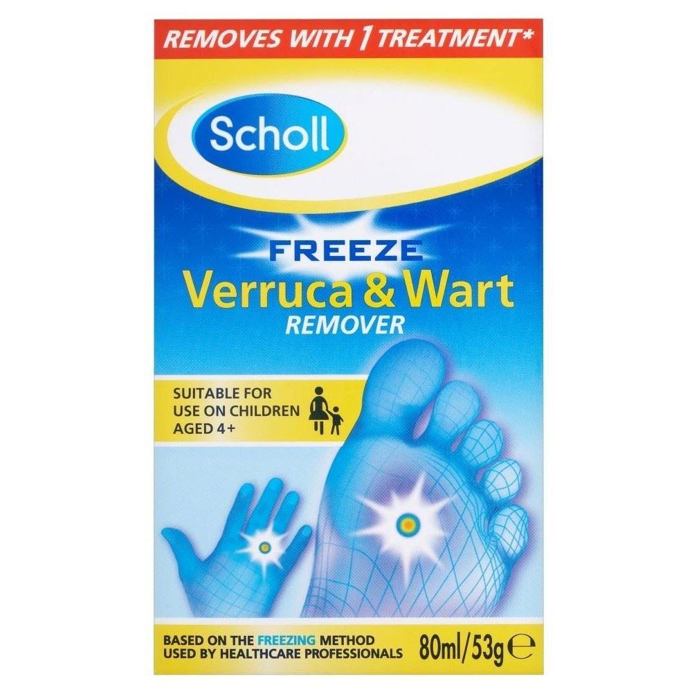 Scholl Freeze de natación anti-verrues & La verruga para ...