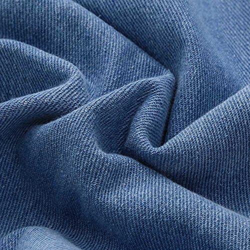 Pantalon Haute Taille Skinny Pantalon sans Bleu Jean Stretch Femme DTresse Leger DTruire Denim Jeans Veste Femme Bleu Pantalons Femme Jeans Beautyjourney DChir Vert Manche en dqHwvzd
