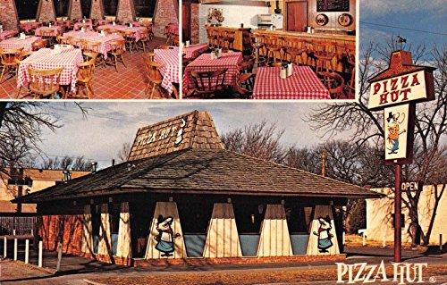 Postcard Interior Exterior Pizza Hut Coupon In Near Des Moines  Iowa 116390