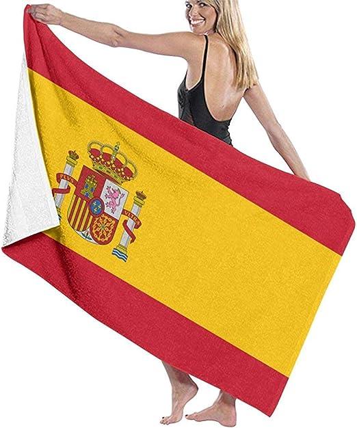 Olie Cam Bandera de España Toallas de baño Súper Suave Altamente Absorbente Secado rápido: Amazon.es: Hogar