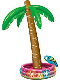 """70"""" Palm Tree Inflatable Cooler"""