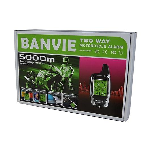 Amazon.com: BANVIE Sistema de alarma de 2 vías para ...
