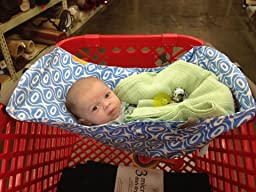 Amazon Com Binxy Baby Shopping Cart Hammock Gray And
