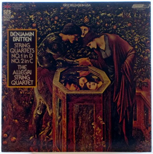 (Benjamin Britten: String Quartets Nos. 1 in D & No. 2 in C - The Allegri Quartet (STS Stereo Treasury Series) [LP Record])