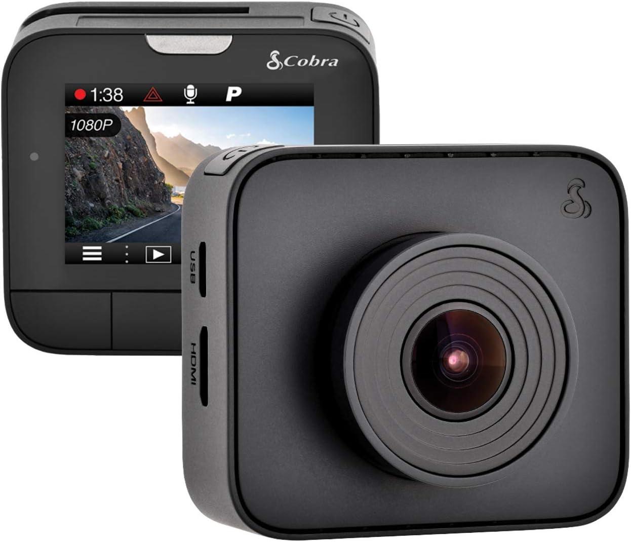 Cobra Drive 2208 1296p Super HD Dash Kamera mit 160/° Aufnahmewinkel und kontinuierlicher Loop Aufnahme