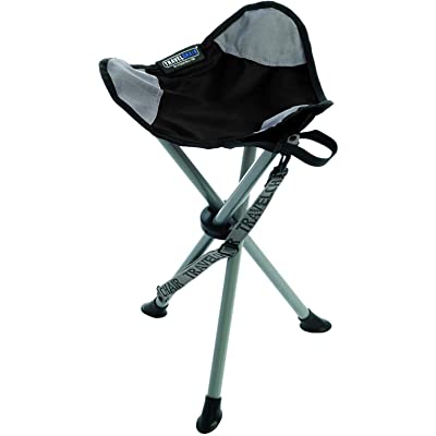 TravelChair Slacker Chair, Tripod Stool, Black : Camping Chairs : Sports & Outdoors