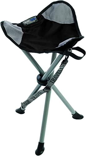 TravelChair Slacker Chair, Super Compact, Folding Tripod Camping Stool