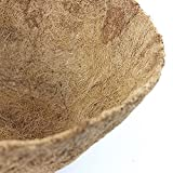 12-Inch Round Coco Fiber Replacement Liner,Basket