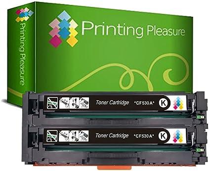 Printing Pleasure 205A 2X Negro Tóner Compatible con HP Laserjet ...