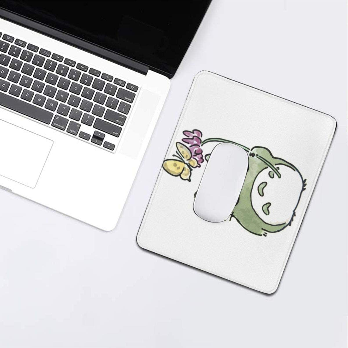 Kikis Delivery Service Jiji Mouse Pad Non-Slip Gaming Mouse Pad with Stitched Edge Computer PC Mousepad Neoprene Base for Office Home