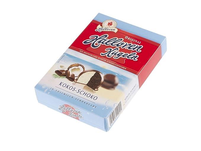 Halloren Kugeln Crema de coco con chocolate en chocolate con leche 125 g